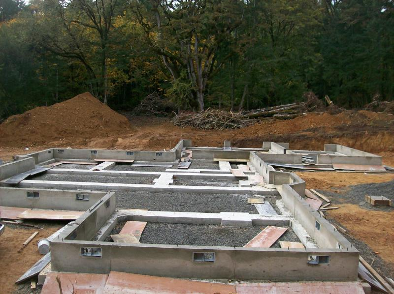 two story concrete foundation eugene monroe oregon premier concrete joe picotte