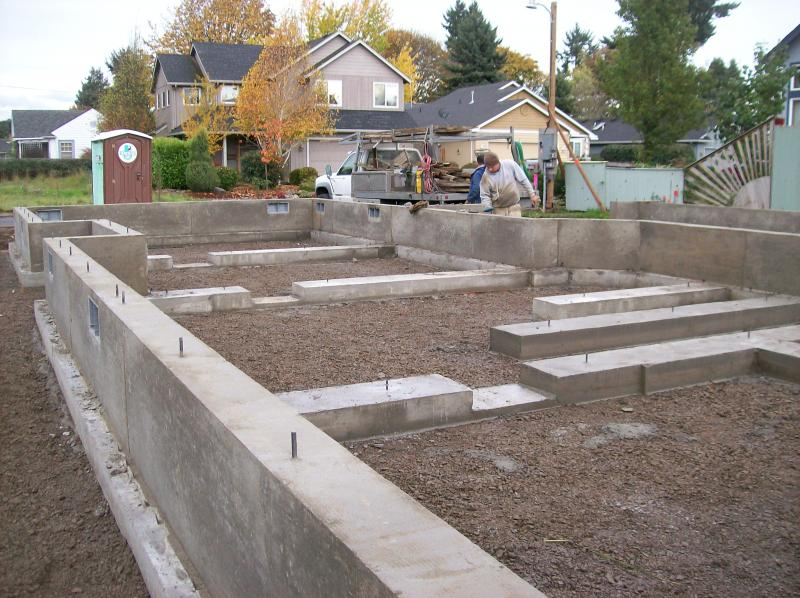 eugene oregon single story concrete foundation premier concrete don elliot