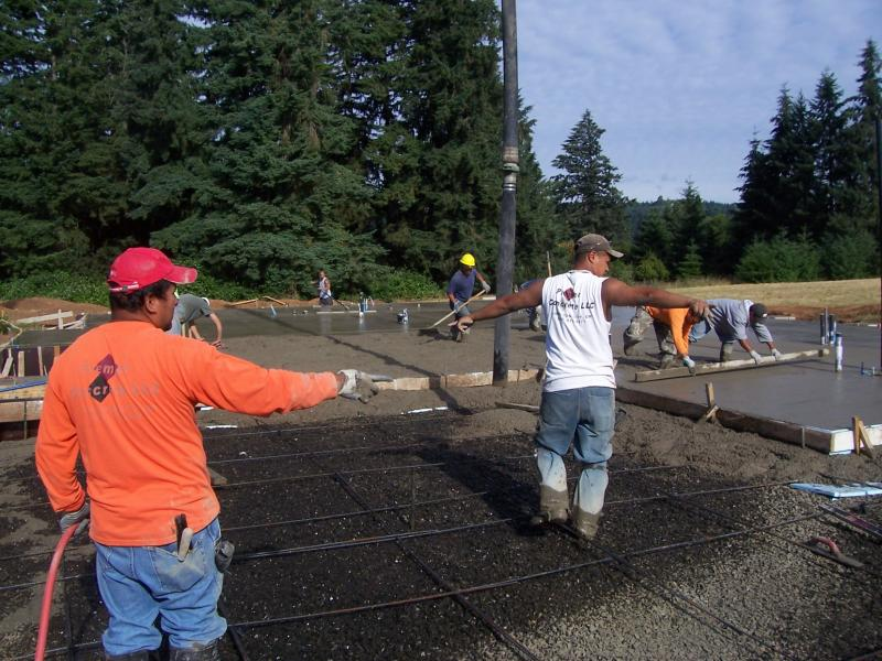 premierconcrete oregon eugene decorative foundation quality pouring mono slab